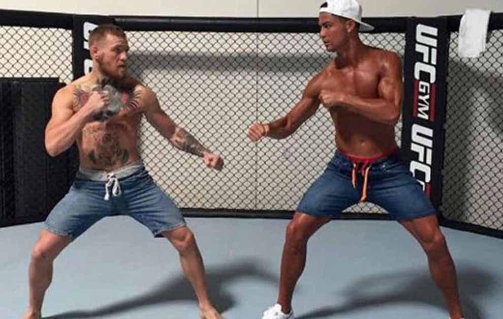 El famoso encuentro entre Conor McGregor y Cristiano Ronaldo