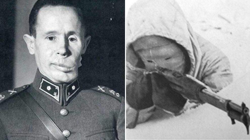 Simo Häyhä (Abatió a 505 soldados rusos): Conocido como La muerte...
