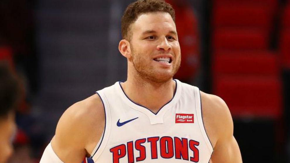 Blake Griffin fue el héroe en la victoria de los Pistons