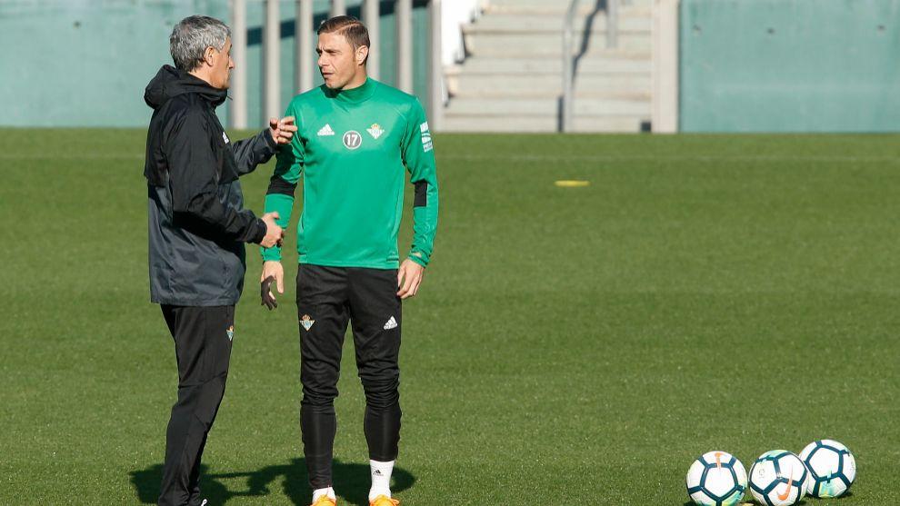 Contratiempo con Joaquín justo antes de los partidos clave