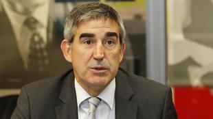 Jordi Bertomeu durante una visita a la redacción de MARCA