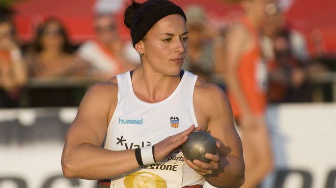Úrsula Ruiz, durante una competición.