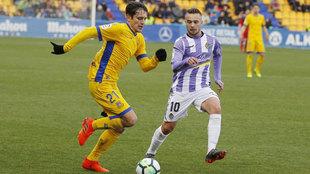 Partido de Liga entre el Alcorcón y el Valladolid