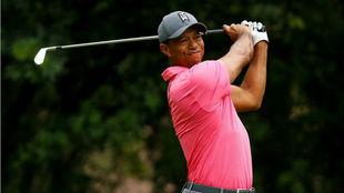 Tiger Woods durante la tercera jornada del Valspar.