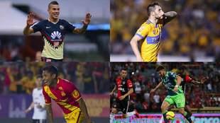 Gignac sigue en plan grande con Tigres, mientras que Uribe, con...