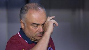 Guillermo Vázquez vive un momento complicado en Veracruz.