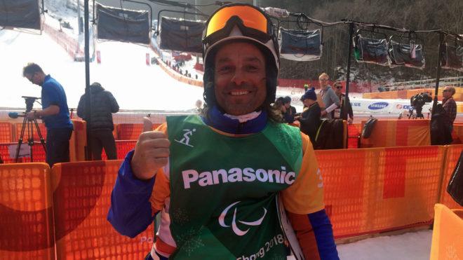 Vic González, feliz tras su debut en los Juegos Paralímpicos