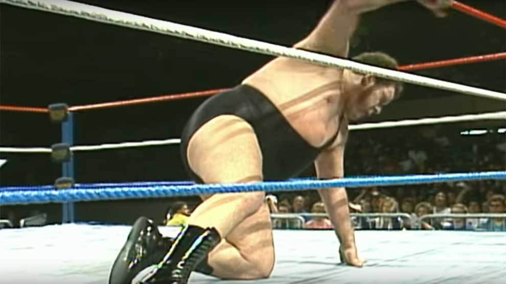 Imagen del trailer del documental Andre The Giant