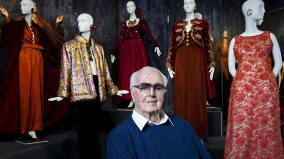 El diseñador francés Hubert de Givenchy