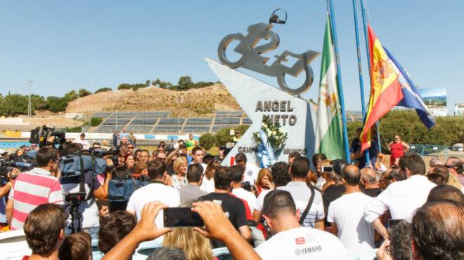 Homenaje a Nieto en el Circuito de Jerez.