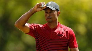 Tiger Woods, durante la tercera jornada del Valspar Championship.