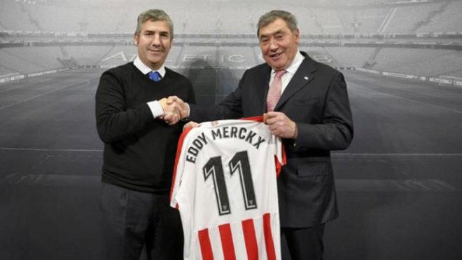 Urrutia y Merckx.