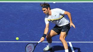 Roger Federer en el torneo de Indian Wells