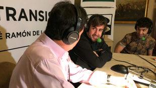 Alonso responde a José Ramón de la Morena ante el Mago Pop.