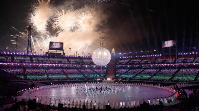 Ceremonia de apertura de los Juegos Paralímpicos de Pyeongchang