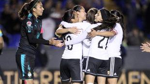 Tigres Femenil sacó la victoria.