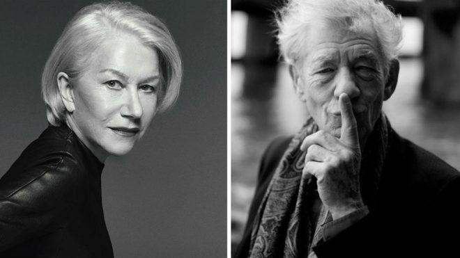 Hellen Mirren e Ian McKellen, protagonistas de la nueva cinta de Bill...