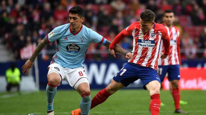 Gameiro sufre una lesión en el aductor y Diego Costa, un traumatismo en un tobillo