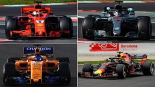 Escuderías del Mundial de F1 2018