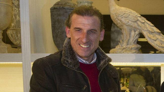 Óscar Arias, director deportivo del Sevilla.