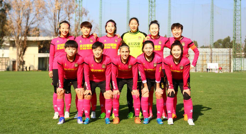 Once inicial del Beijing BG Phoenix en su estreno en la temporada...