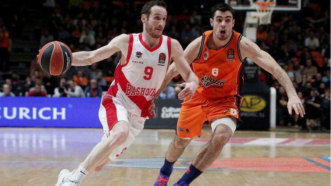 Marcelinho Huertas fue clave en el partido de Euroliga contra el...