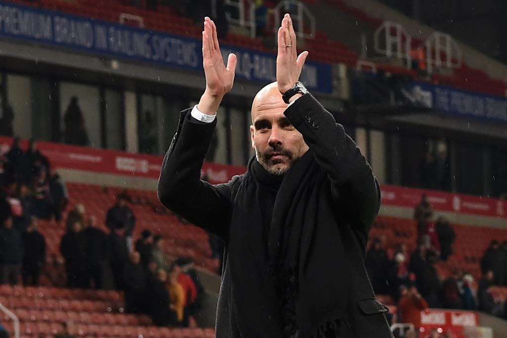 Manchester City derrota 2-0 al Stoke City
