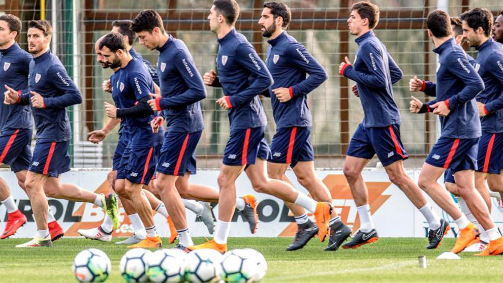 Entrenamiento del Athletic Club