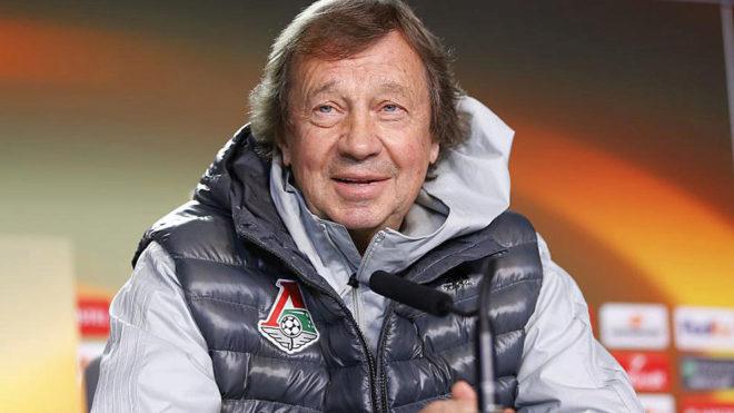 Yuri Siómin, en una rueda de prensa.