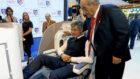 El consejero delegado del Atlético de Madrid, en un acto