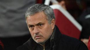 Mourinho, durante el partido