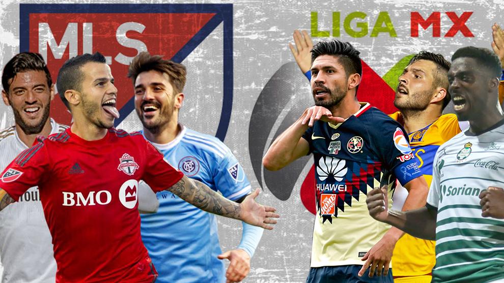 Los dos tridentes ofensivos de la MLS y la Liga MX.