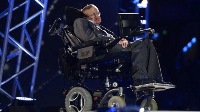 El científico Stephen Hawking