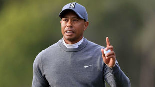 Tiger Woods, durante el pasado Valspar Championship.