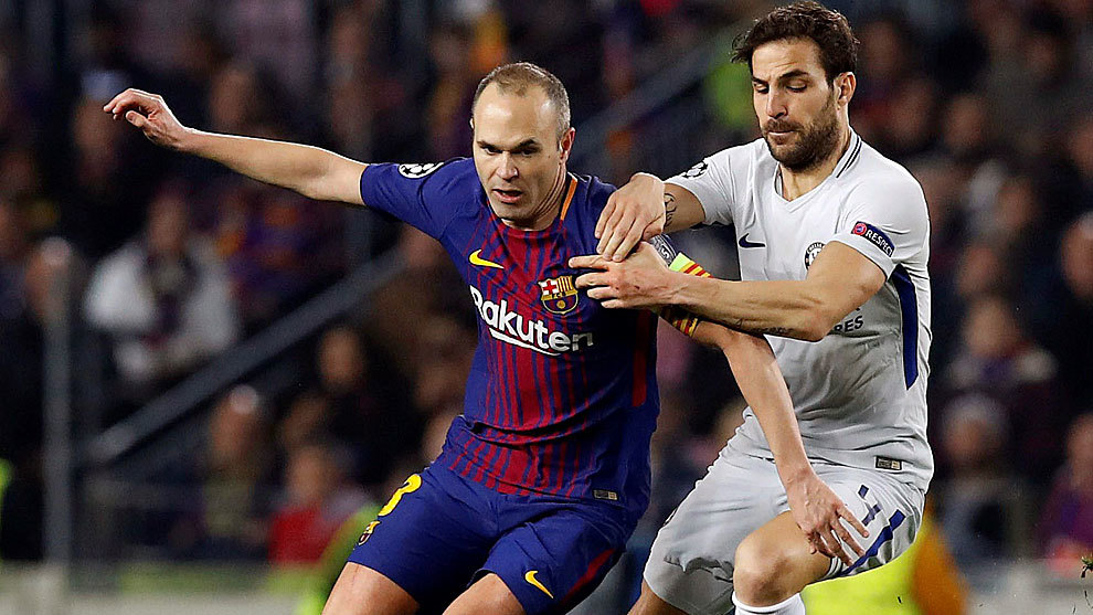 Champions league barcelona 3 0 chelsea iniesta i can for Championship league table 99 00