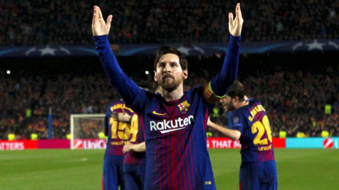 Messi llegó a los 100 goles en la Champions League