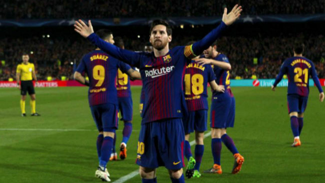 Messi: I'm happy to have scored 100 goals in such a beautiful competition