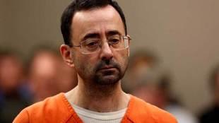 Lary Nassar, durante su juicio por abusos sexuales