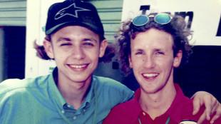 Rossi y Tessari, en Indonesia 1996