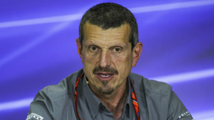 Guenther Steiner, jefe del equipo Has