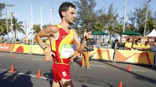 Álvaro Martín, en los Juegos Olímpicos de Río.