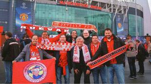 Aficionados en Old Trafford