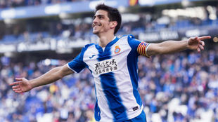 Gerard Moreno durante un partido