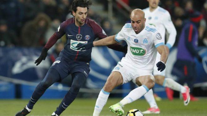 Abdennour durante un partido ante el PSG.