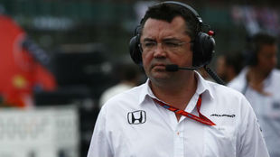 Eric Boullier, director deportivo de McLaren F1.