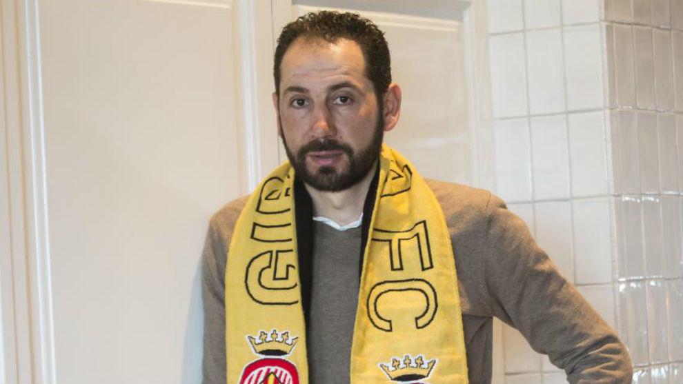 Pablo Machín posa para MARCA.