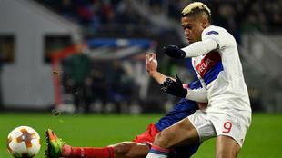 Mariano fue el mejor del Lyon