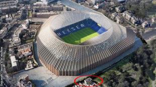 Simulación del nuevo Stamford Bridge /