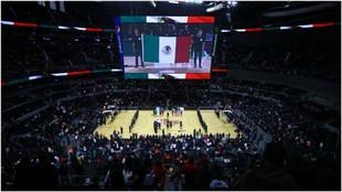 Vista general durante el Brooklyn Nets-Miami Heat, en la Nueva Arena...