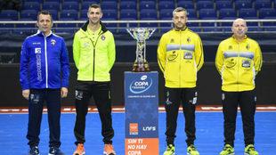 Juan Carlos Guillamón, Raúl Jerez, Mauricio y Dani Rodríguez.